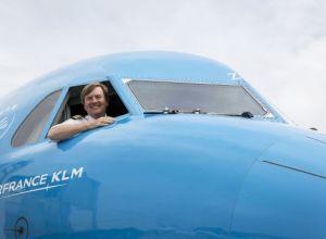 Ai zburat cu KLM? Pilotul tău ar fi putut fi chiar Regele Olandei!