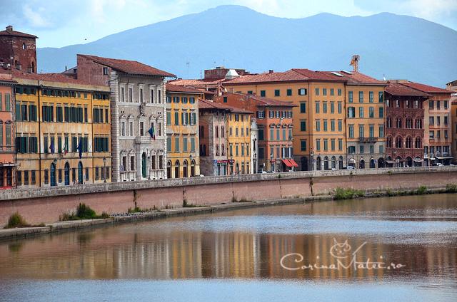 Pisa e ideală pentru o după-amiază excelentă