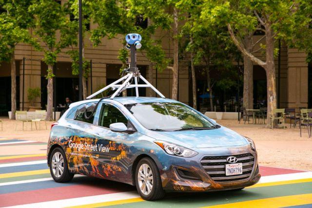 Noile mașini Google Street View, în România