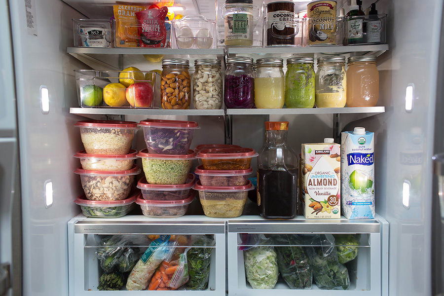 Image result for meal prepping fridge
