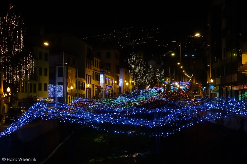 Christmas Lights River Funchal