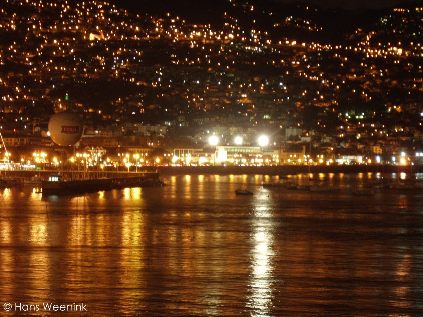Funchal by night