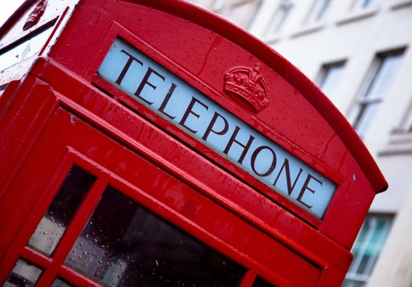 A red telephone box. Image byluxstormfromPixabay