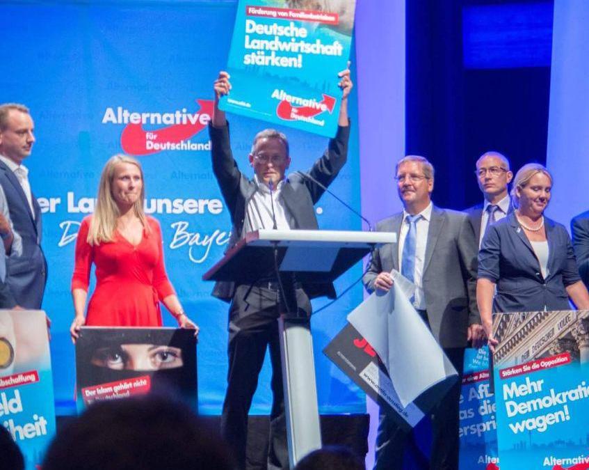 Wahlkampfauftakt Bayern