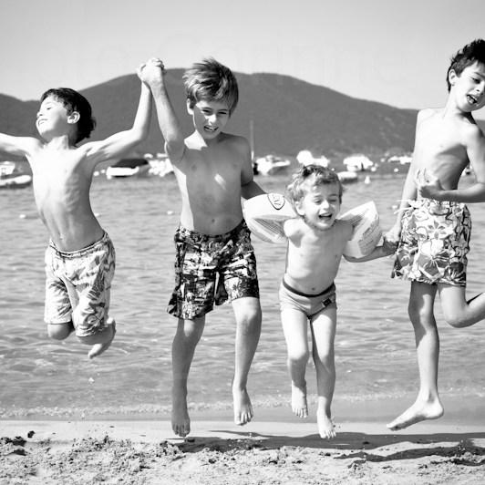 Photographe Noir et Blanc scène de vie