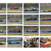 Planche sur la piste des 24H du Mans