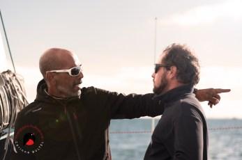 David Ducosson et son préparateur Darry Pelletreau