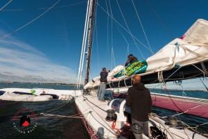 Photo David Ducosson Skipper, Photographe reportage nautique, skipper route du rhum 2018