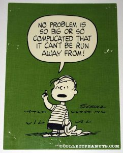 Peanuts' character's comment perfect for bullying culture