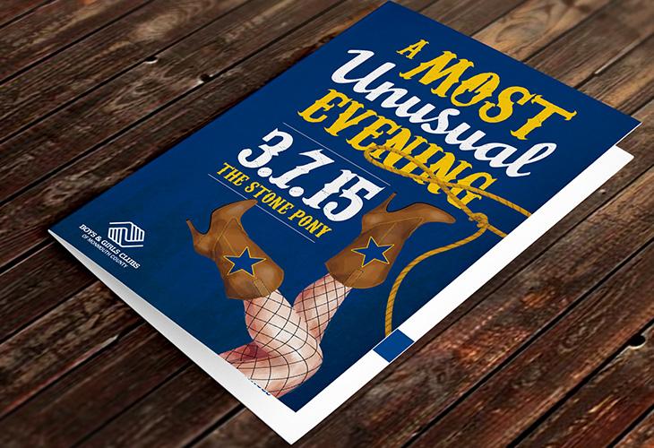 Most Unusual Evening 2015 Invitations | Corinne Karl Design