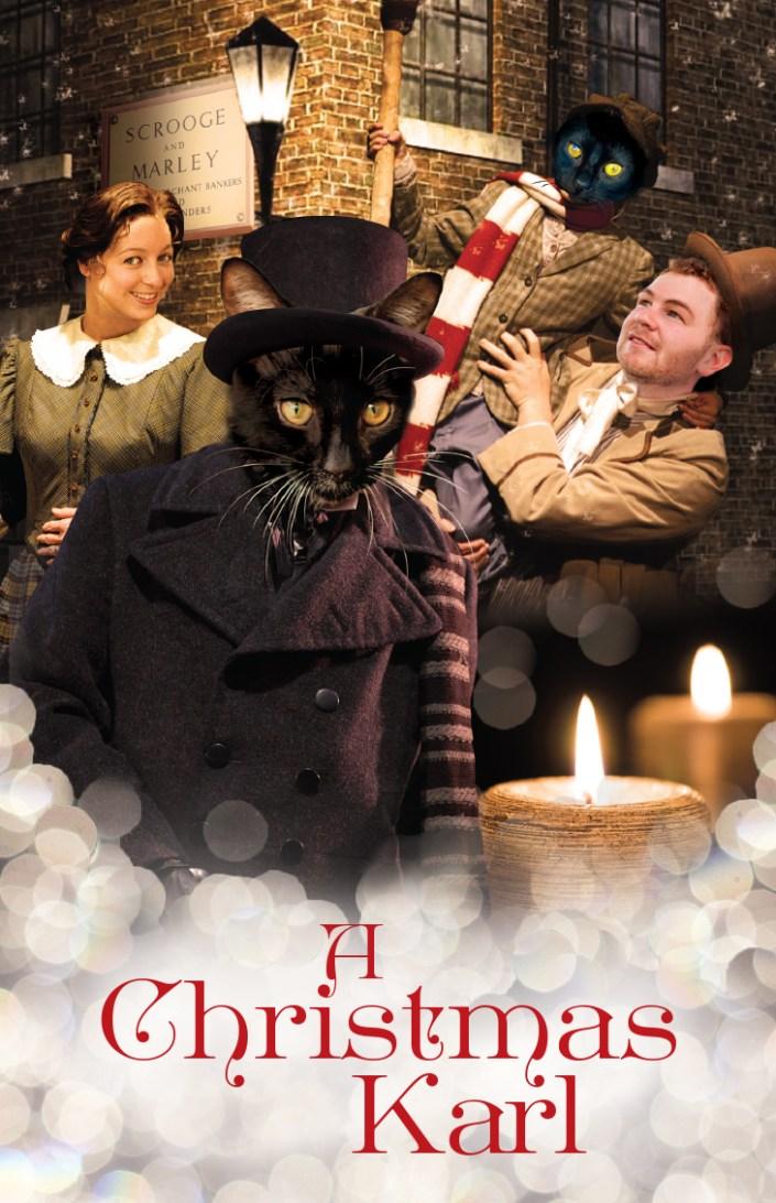 A Christmas Carol, cats, feline