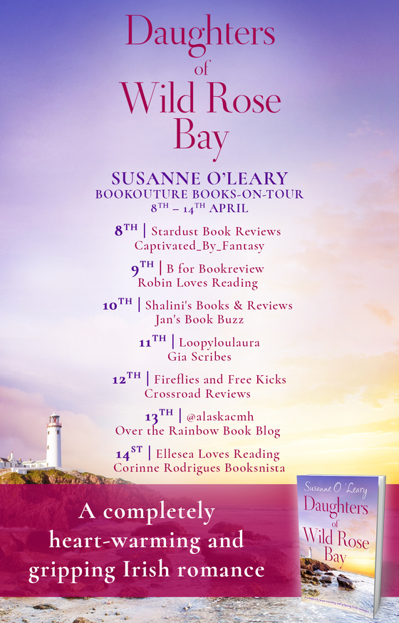 daughters of wild rose bay book tour