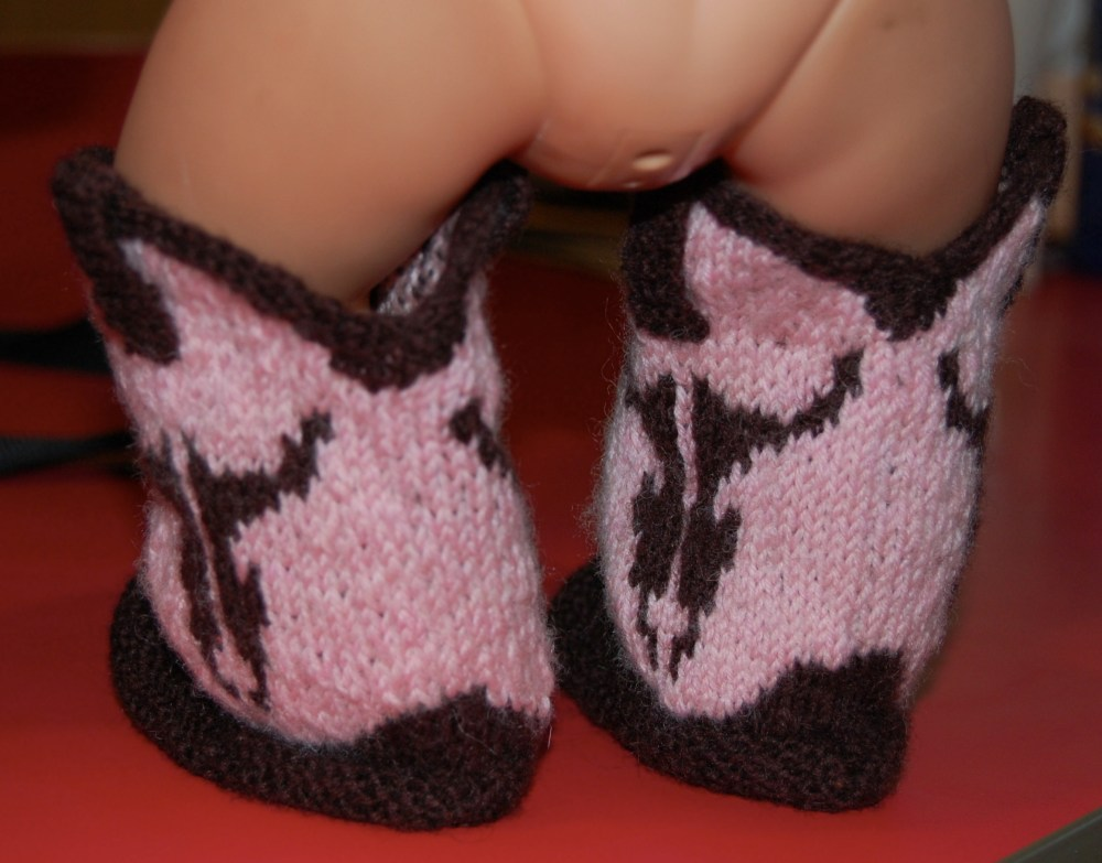 Cowboy Booties Pattern is Available (3/4)