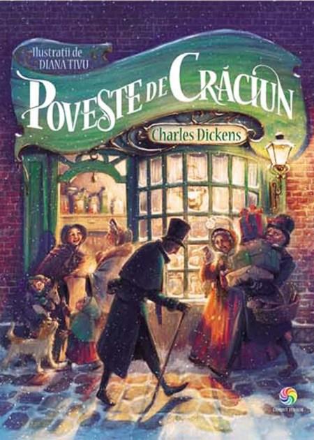 Poveste-de-Craciun-Dickens-Tivu-carti-copii-ilustrate-editura-corint-junior