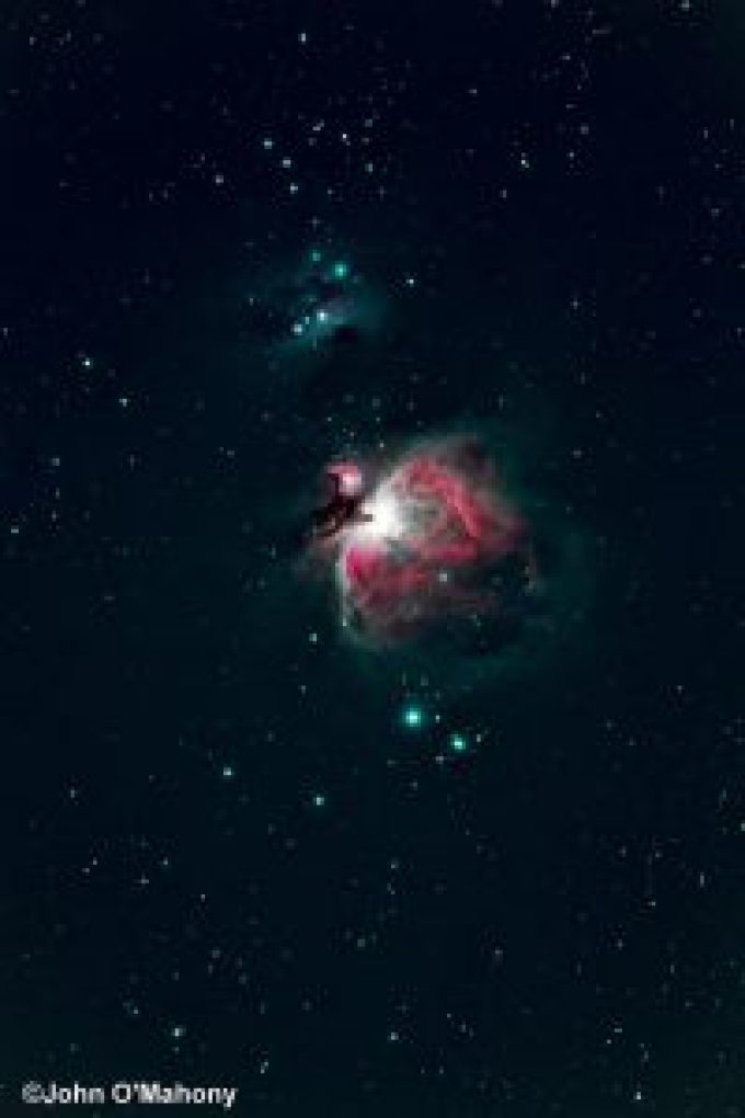 The Orion Nebula by Guest Astrophotographer John O'Mahoney