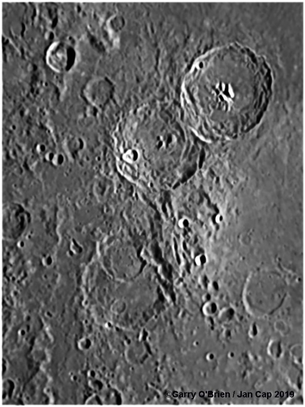 Theophilus and other craters