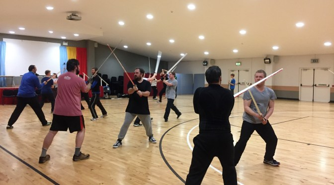 Open Longsword Classes starting from tomorrow!