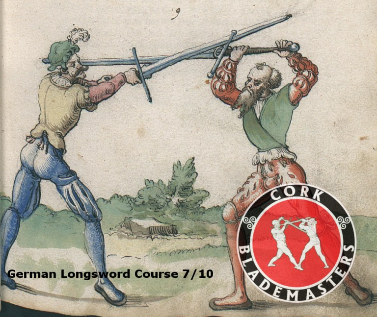 German Longsword Course 7/10 – Mon 27/11/2017