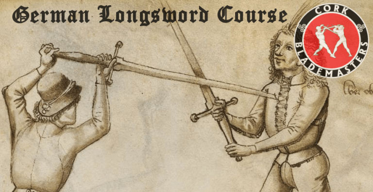 German Longsword Course 2/10 – Mon 22/01/2018