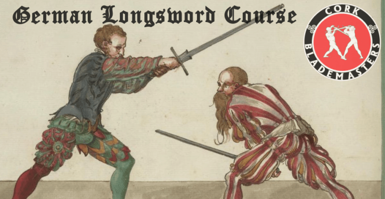 German Longsword Course 10/10 – Mon 10/12/2018