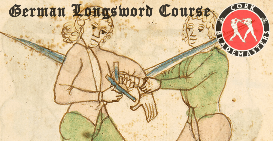 German Longsword Course 8/10 – Mon 04/11/2019