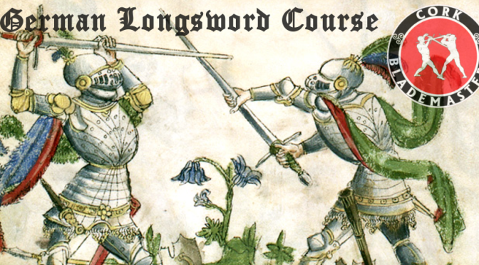 German Longsword Course 9/10 – Mon 11/03/2019