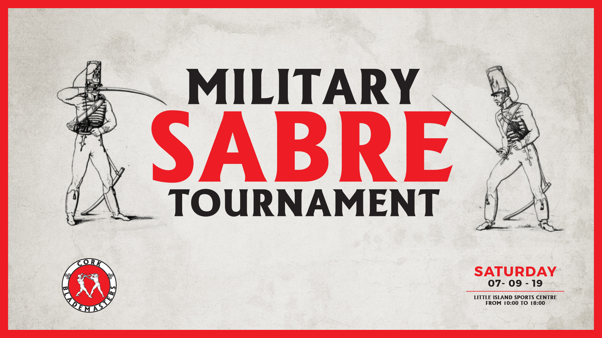Military Sabre Tournament Tomorrow!