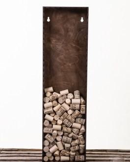 Corkbox 70 x 20 cm. – Ramme til Vinpropper