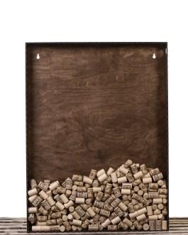 Corkbox 80 x 60 cm. – Ramme til Vinpropper