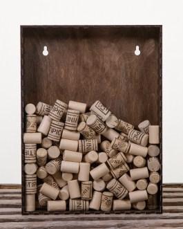 Corkbox 40 x 30 cm. – Ramme til Vinpropper