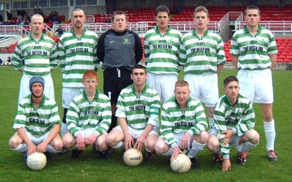saxone cup finalists 2001