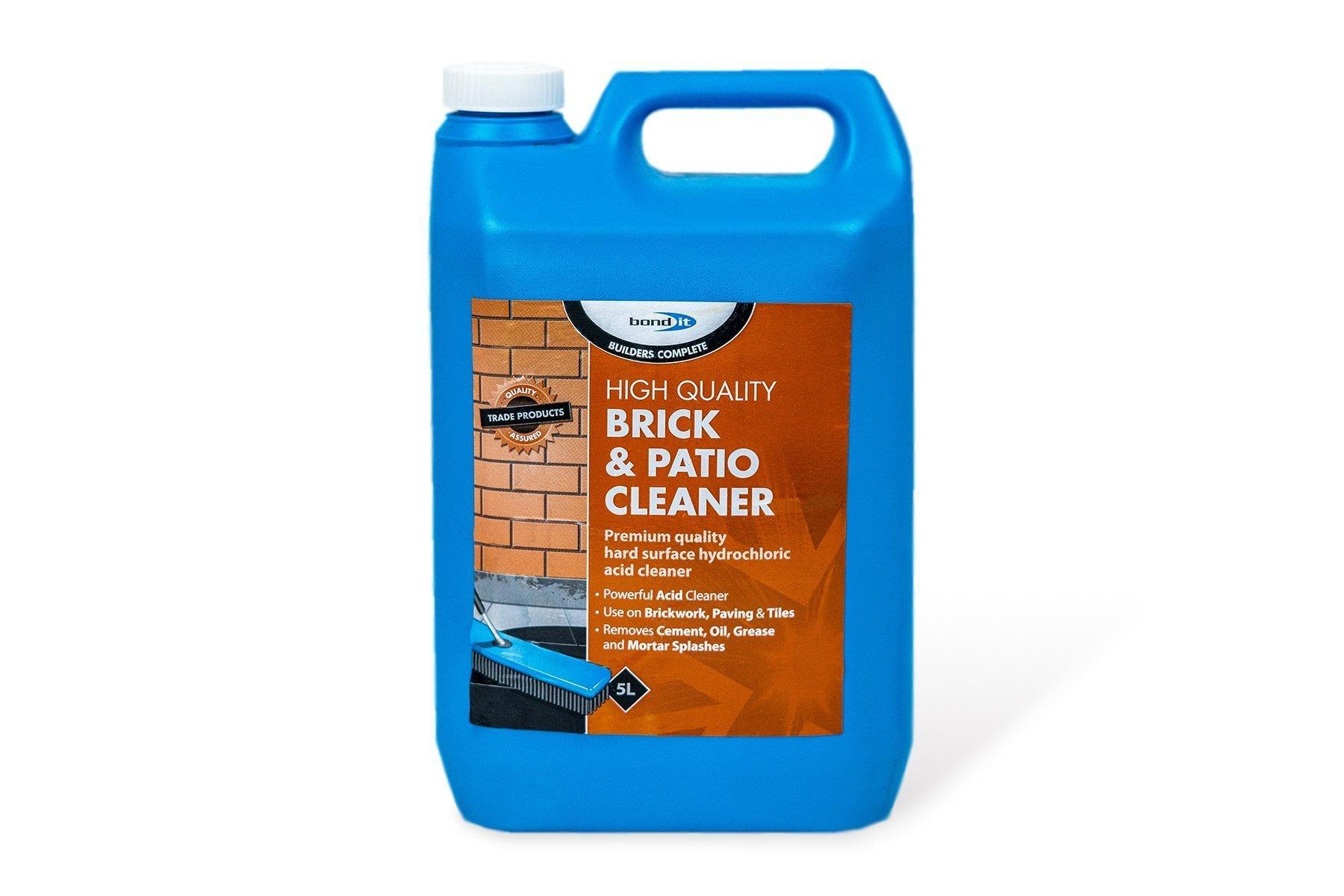 brick patio cleaner