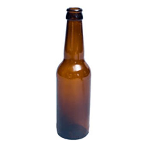330 amber bottle