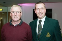 John aherne and JP Twomey pictured at the Peter Alliss evening in Castlemartyr Golf Club. Picture: Niall O'Shea