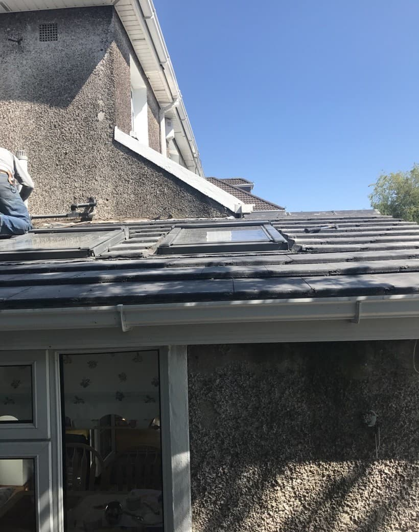 After Roofing Extension Repair Cork