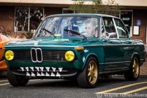 BMW 2002 at the Feb 2018 Orinda Cars and Coffee