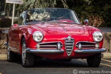 Alfa Romeo Giulietta Convertible at Orinda,
