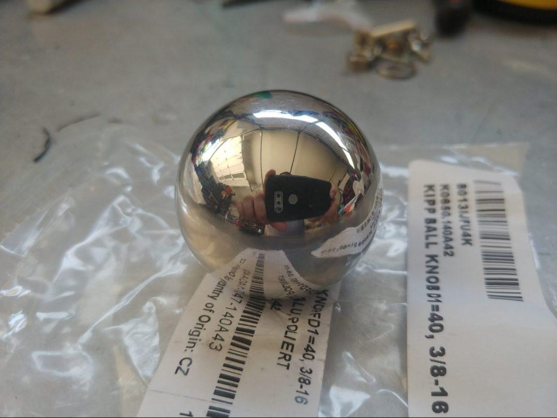 Aluminum ball knob