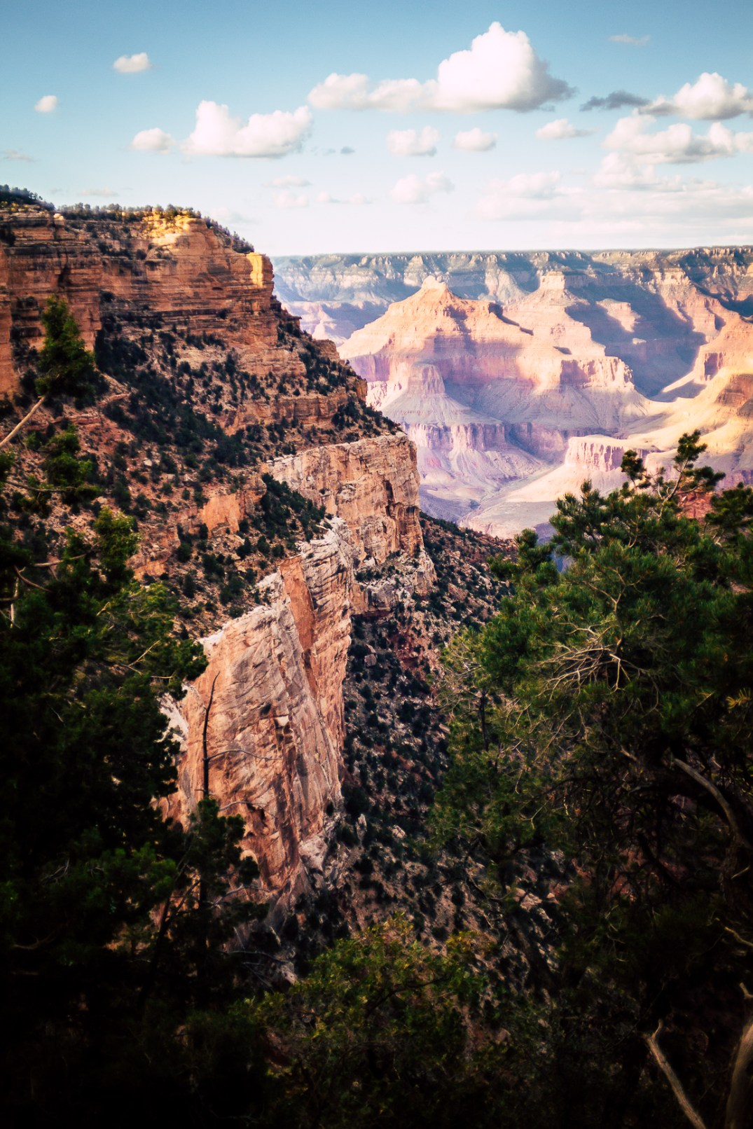 A shot of part of the Grand Canyon. Shot with the Spiratone 20mm F2.8