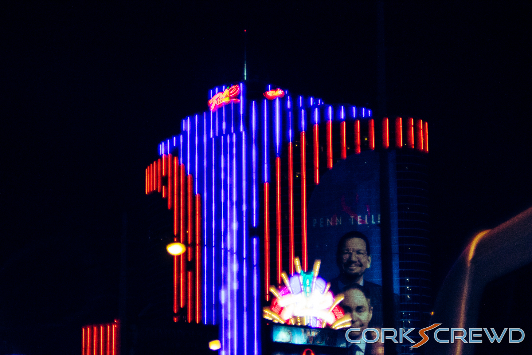 Photo from one night in Las Vegas