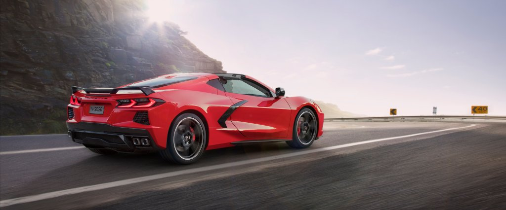 The C8 Corvette Stingray