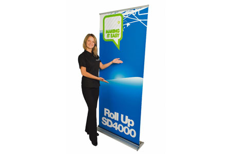 SD4000 Roll Up Banner
