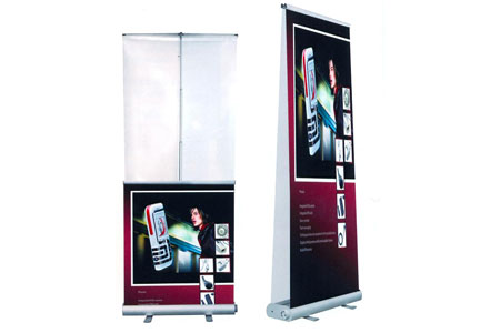 Double sided smart banner