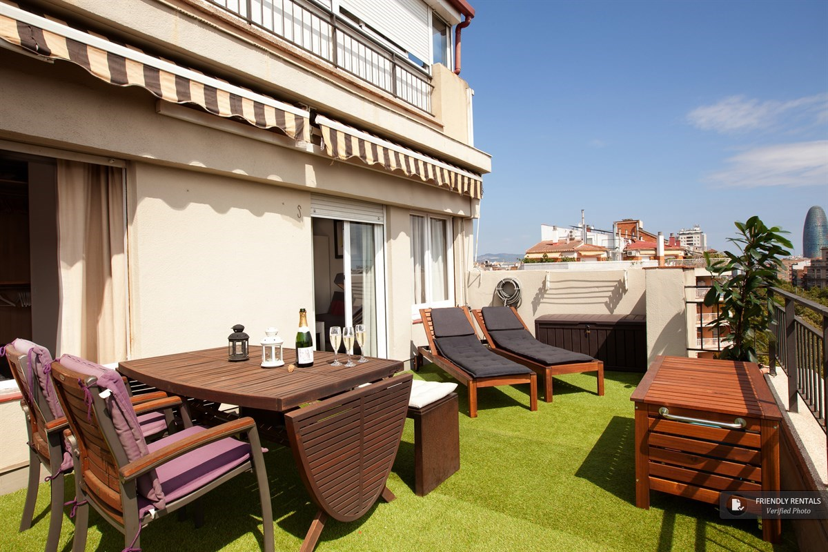 Das Beste The Boutique Terrace Apartment In Barcelona Stylish With In Diesem Monat