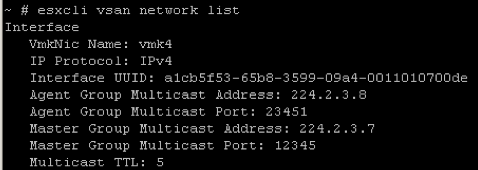 2. display multicast addresses