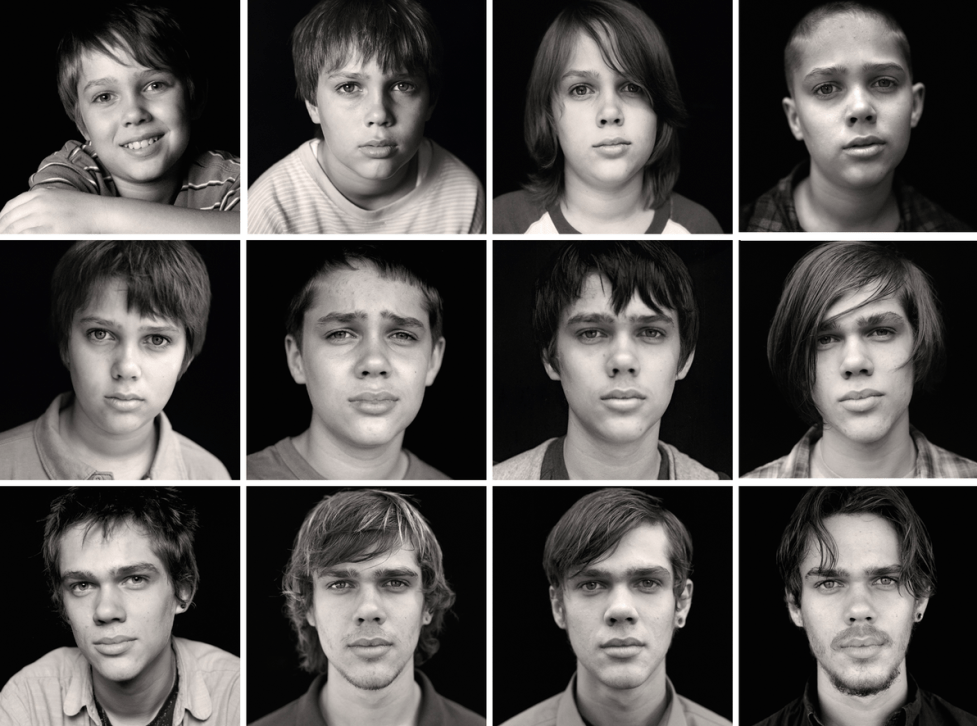 boyhood collage