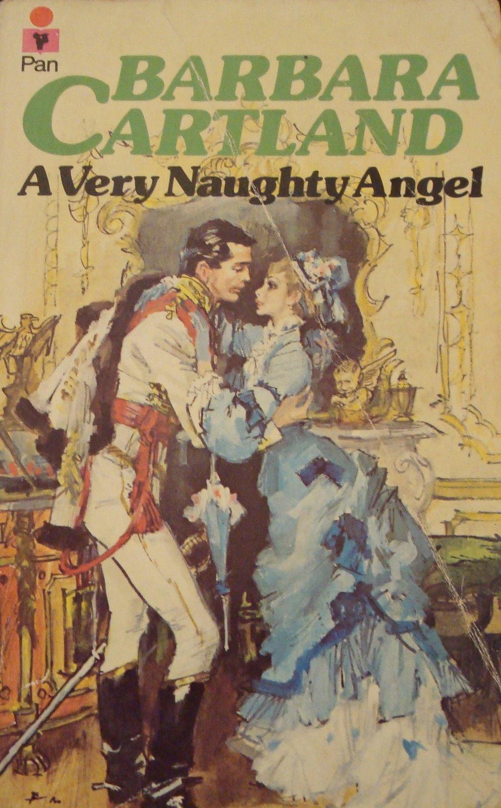 """Képtalálat a következőre: """"Barbara Cartland A vásott angyal"""""""