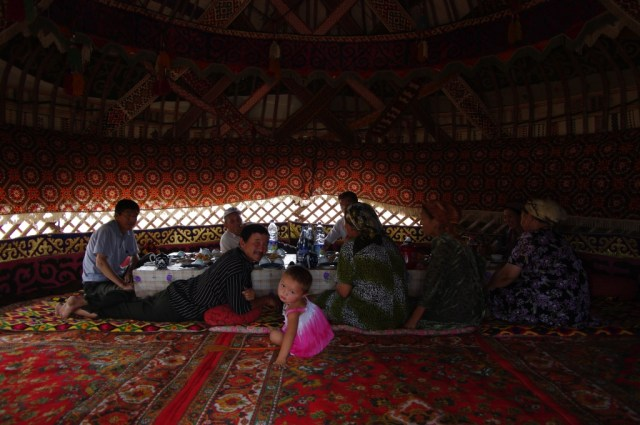 Balogh Ádám: Nomádok Khiva közelében, Üzbegisztán (2011.)