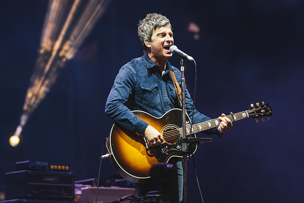 BUDAPEST, HUNGARY - AUGUST 15: Noel Gallagher of Noel Gallagher's High Flying Birds performs on Day 6 at the Sziget Festival 2016 on August 15, 2016 in Budapest, Hungary. (Photo by Joseph Okpako/WireImage)