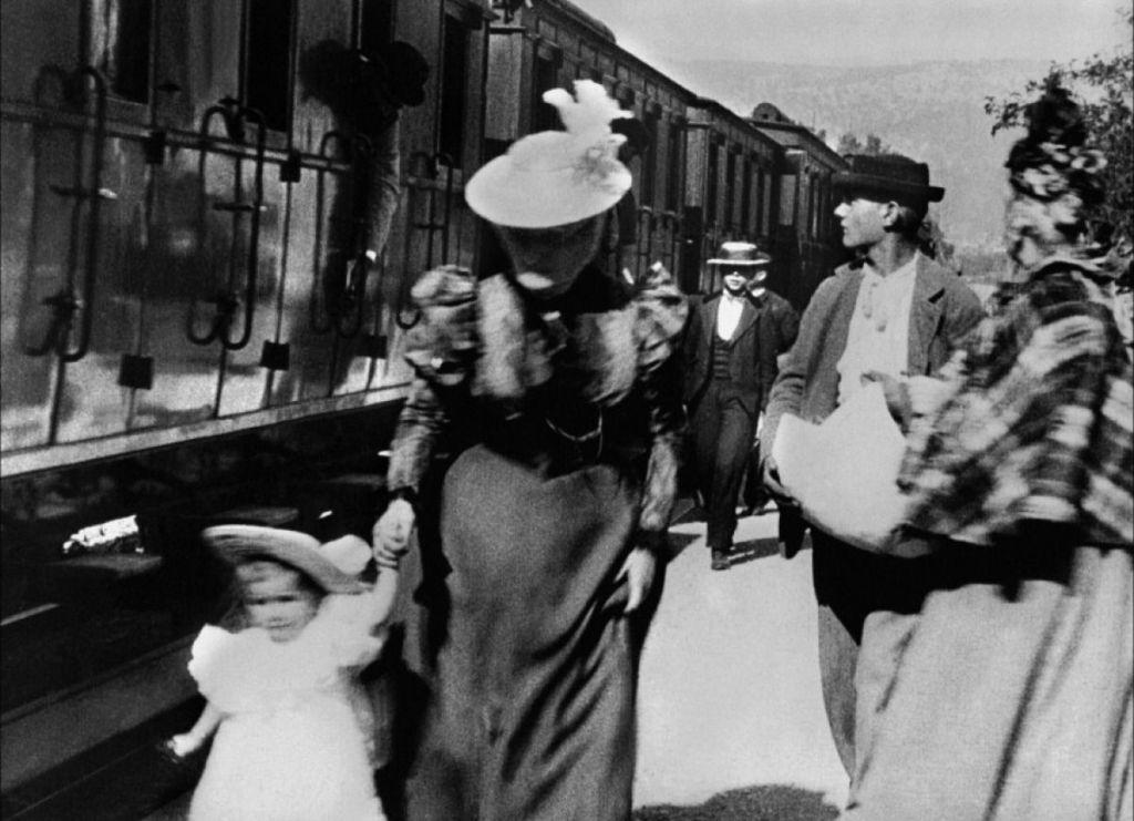 A vonat érkezése